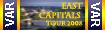 East Capitals Tour